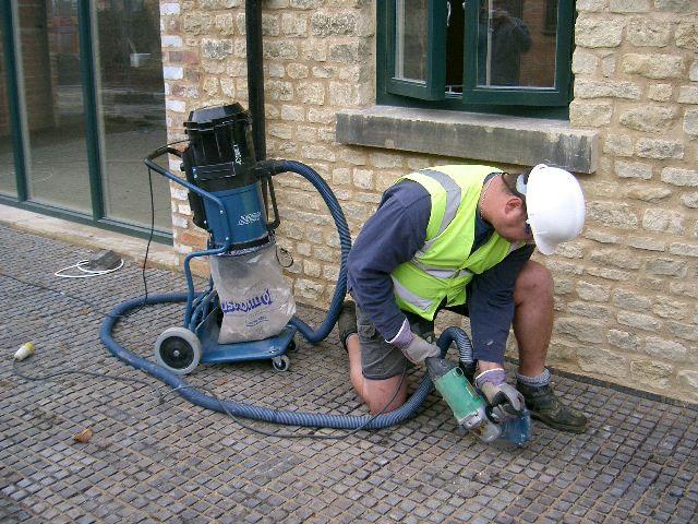 Aspiraci n en la construcci n barin for Corte de pavimentos de hormigon