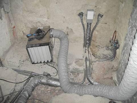 Aspiraci n en la construcci n barin - Ventilacion forzada banos ...
